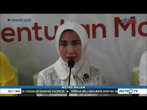 Vera - Nurhasan Maju Di Pilwalkot Serang Didukung 6 Partai