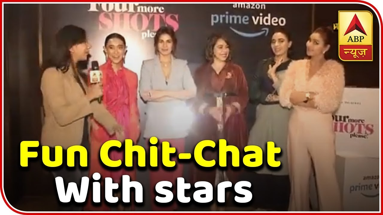Afghan Chit Chat Site fun chit-chat with 'four more shots please!'stars | abp news - youtube