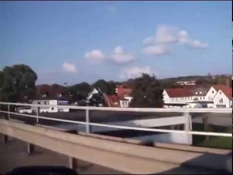 Autofahrt von Herzberg zur Autobahn Hannover / Kassel