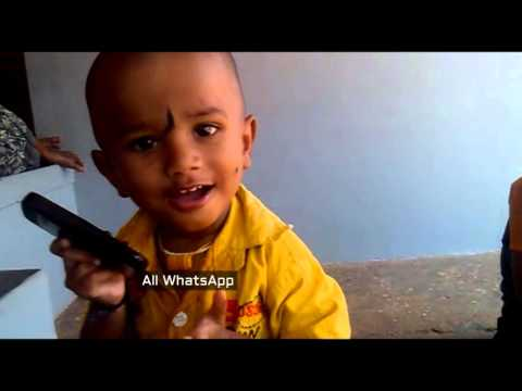 Cute Baby Using Mobile Phone | Whatsapp Funny Videos 2015 2016 @whatsapp #whatsapp