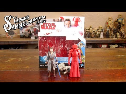 HASBRO Star Wars The Last Jedi - Rey Jedi Training und Elite Praetorian Guard - Review - deutsch