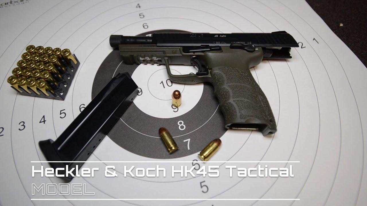 Tactical Raiders Shooting - Heckler & Koch HK45 Tactical  45 ACP