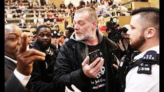 Activists demand the arrest of London Mayor Sadiq Khan
