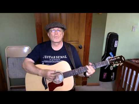 2024 -  February Seven -  Avett Brothers vocal & acoustic guitar cover & chords