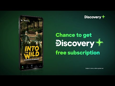 Earn a chance to get a free Discovery Plus subscription with