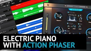 Electric Piano with Action Phaser Plugin