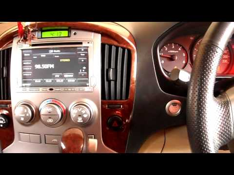 Hyundai H1 keyless with Nissan button and door slide control