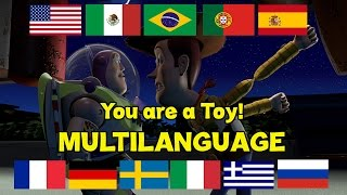 "Toy Story: ""You Are a Toy!"" (Multilanguage)"