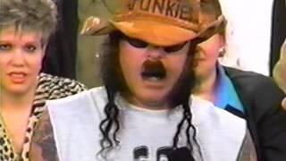 G.G. Allin - on Jane Whitney Show 1993 (Last Interview)