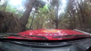 Club tripping, in-car video from Auckland 4wd Club trips