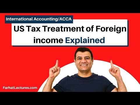 US Tax Treatment Of Foreign Income | International Tax Course | CPA Exam FAR |