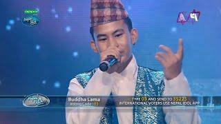 Yeti Samma Preeti Performed By Buddha Lama - Nepal Idol