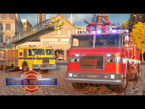 William Watermore the Fire Truck - Real City Heroes (RCH) | Videos For Children