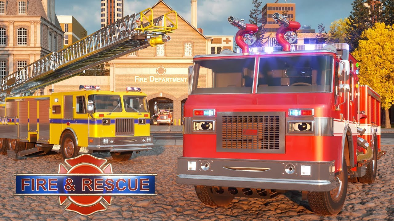 Download William Watermore the Fire Truck - Real City Heroes (RCH) | Videos For Children