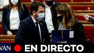 DIRECTO: Sesión de control al Govern en el Parlament