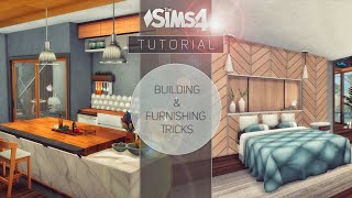 Building & Furnishing Tricks • TUTORIAL | NO CC | THE SIMS 4