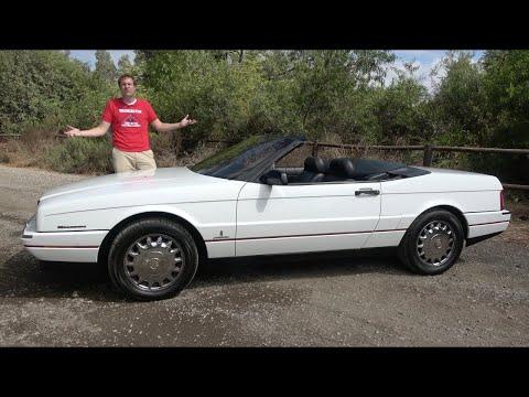 Cadillac Allante был причудливым интересным провалом