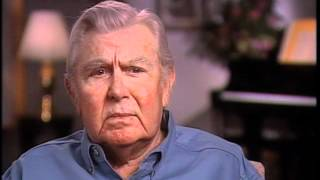 """Andy Griffith on the production of """"The Andy Griffith Show"""" - EMMYTVLEGENDS.ORG"""