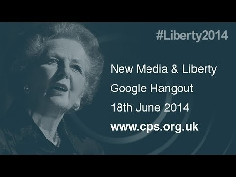 New Media and Liberty Google Hangout - Higher Quality