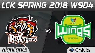 ROX vs JAG Highlights Game 3 LCK Spring 2018 W9D4 ROX Tigers vs Jin Air Green Wings by Onivia