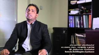 TNA Batticaloa District MP Mr. Sathasivam Viyalendran Interview