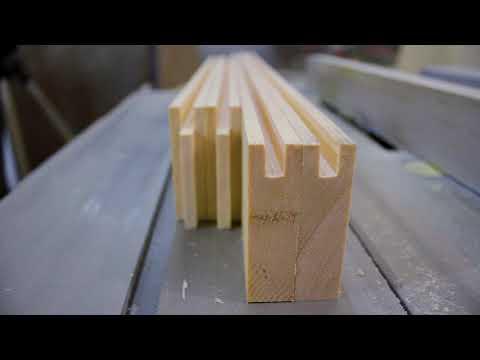 Изготовление простого мебельного фасада. Массив сосны, фанера. DIY Фасад на кухню своими руками