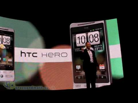 HTC Hero launch event video