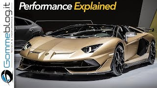 Lamborghini Aventador SVJ Roadster - DESIGN and PERFORMANCE EXPLAINED