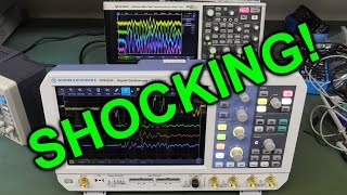 EEVblog #983 - A Shocking Oscilloscope Problem!