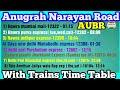 Railway Station Talk#1 | Anugarh Narayan Road 【AUBR】
