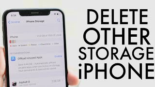 How To Delete Other Storage On ANY iPhone! (2020)