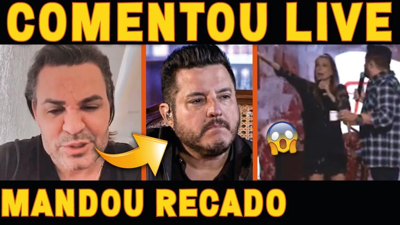 Eduardo Costa MANDA RECADO PARA Flavia Viana sobre LIVE do Bruno