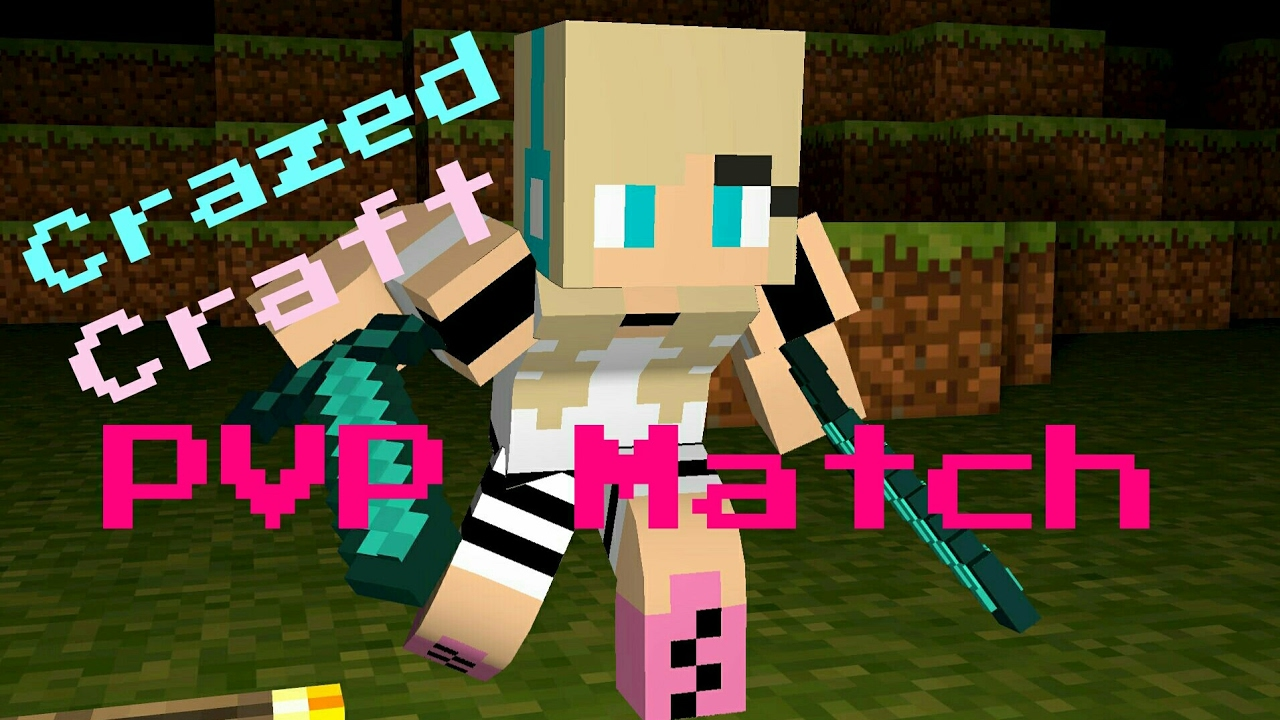 Crazed craft pvp matches youtube for Iowa largest craft show