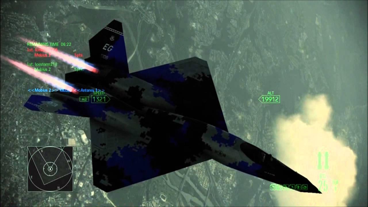 Ace Combat Assault Horizon Xbox 360 Online Gameplay Icestorm218 vs XXxSTRYK3RxX - YouTube