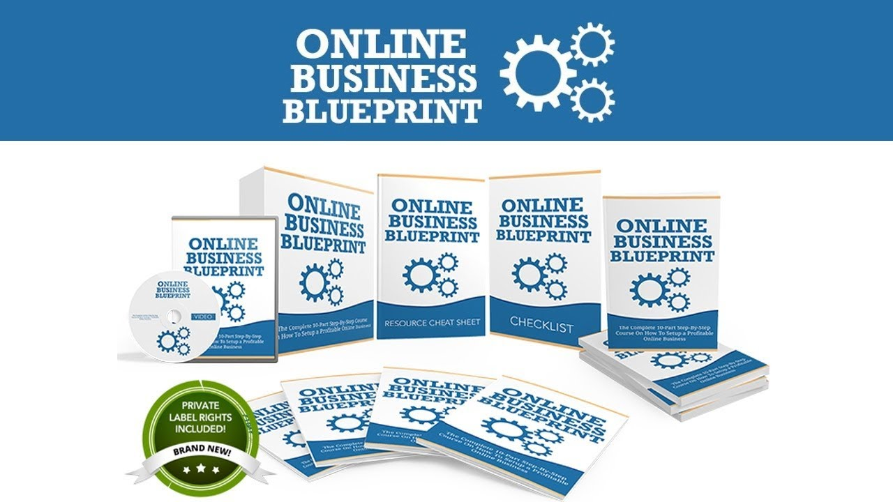Online Business Blueprint PLR Review Bonus - Brand New PLR in Hot Niche You  Can Resell