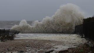 Hurricane Sandy Waves New Jersey