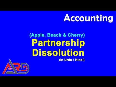 AS Level - Partnership Dissolution - Apple Beach Cherry