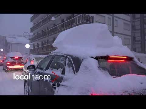 Emergenza neve Val d'Aosta, eccezionale nevicata su Courmayeur (10 dicembre)