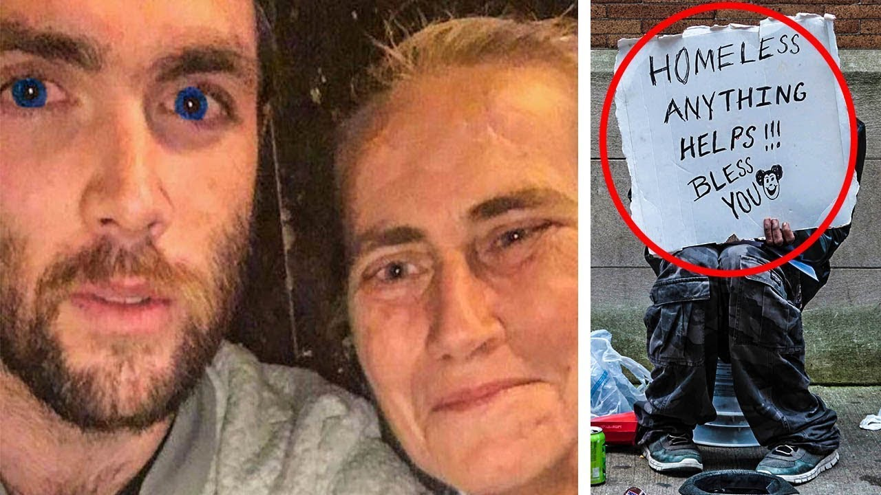 A Man Was Spending A Night On The Town When A Homeless Woman Took Him By Surprise