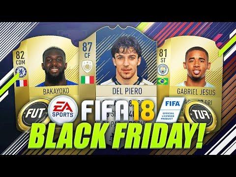 BEST BLACK FRIDAY MARKET CRASH INVESTMENTS! (FIFA 18 Trading & Investing Tips)