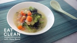 Vegetable-miso Soup With Chickpeas - Eat Clean With Shira Bocar