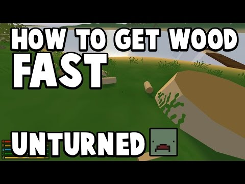 how to build a wooden chest in unturned