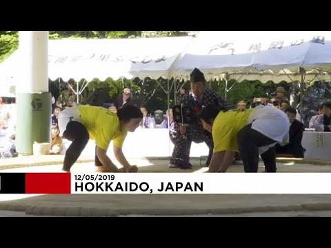 شاهد: دورة نسائية استثنائية في رياضة السومو في اليابان  - 11:54-2019 / 5 / 15