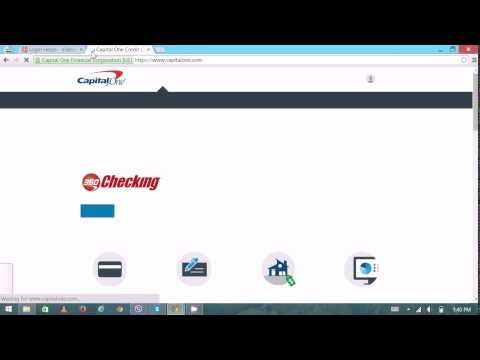 Capital One Credit Card - Capital One Credit Card Login | Capital One Online Banking