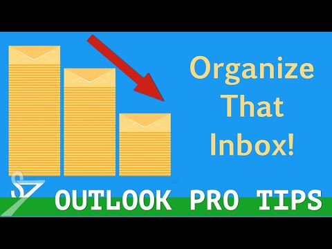 How to make a folder in outlook email
