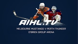 Perth Thunder @ Melbourne Mustangs  (29/4/18)