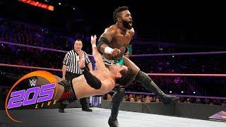 Cedric Alexander & Rich Swann vs. Tony Nese & Noam Dar: WWE 205 Live, Oct. 24, 2017