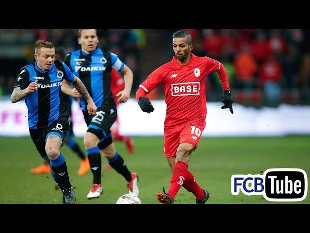 2017-2018 - Jupiler Pro League - 28. Standard - Club Brugge 1-1