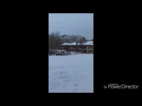 Зимний день в детском садике города Усть-Илимска