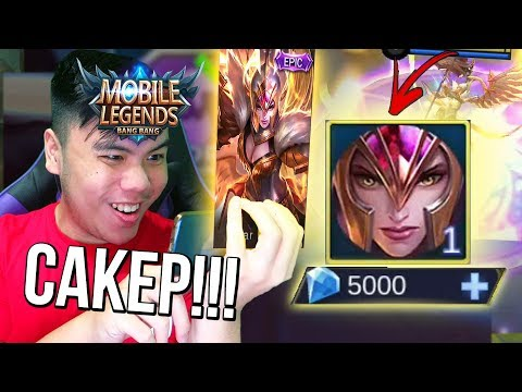 GUYS! NEW SKIN EPIC FREYA KEREN GILAAAA!?!?  - Mobile legends indonesia #47